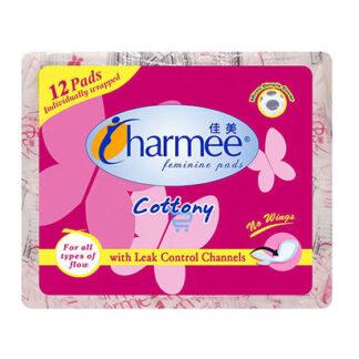 Charmee Cottony Non Wings  Sanitary Napkin 12s