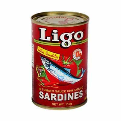 Ligo Red Chili Sardines 155g