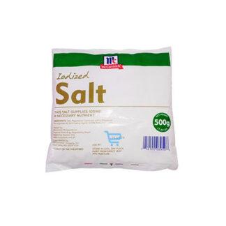McCormick Iodized Salt 500g