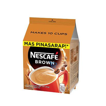 Nescafe Brown 27gx10s