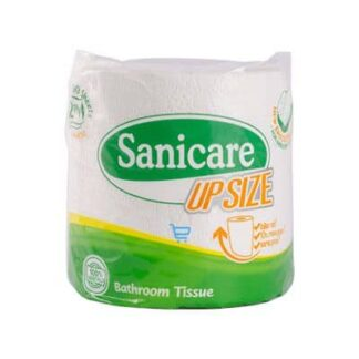 Sanicare Upsize 2 Ply Tissue 1 Roll