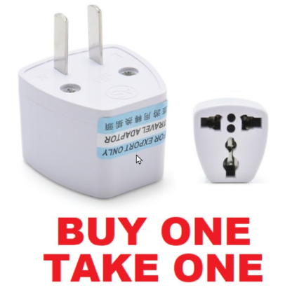 Universal Travel Adaptor Outlet Plug Adapter