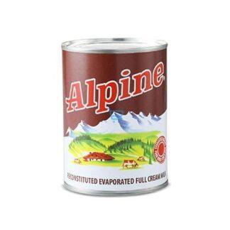 Alpine Full Cream Evaporated Milk 370ml