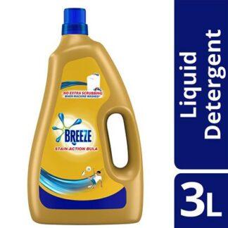 Breeze Liquid Detergent Action Bula 3L