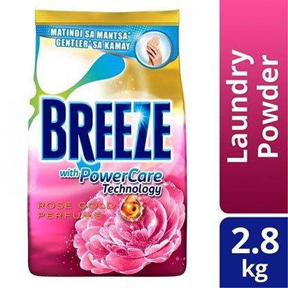 Breeze Laundry Powder Rose Gold Perfume 2.8kg