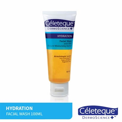 Celeteque Hydration Facial Wash 100ml