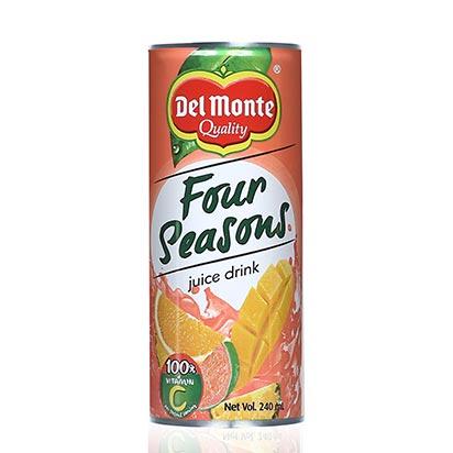 Del Monte Four Seasons Juice Can 240ml