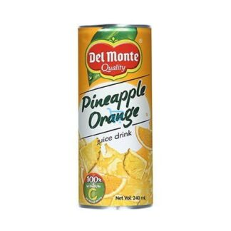 Del Monte Pineapple Orange Juice 240ml