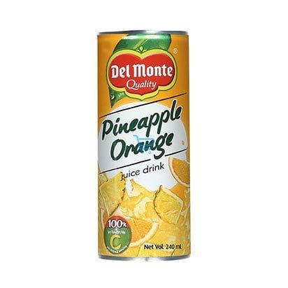 Del Monte Pineapple Orange Juice 240ml