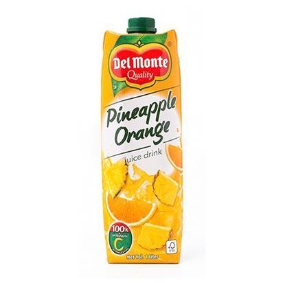 Del Monte Pineapple Orange Juice 1 Liter