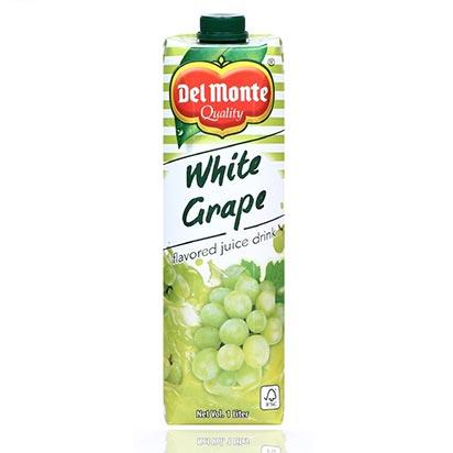 Del Monte White Grape Juice 1 Liter