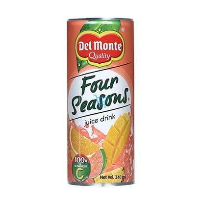 Del Monte Four Seasoned Juice Drink 240ml