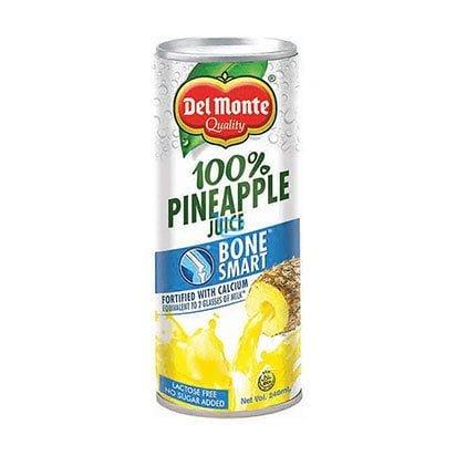 Del Monte Pineapple Juice Bone Smart 240ml