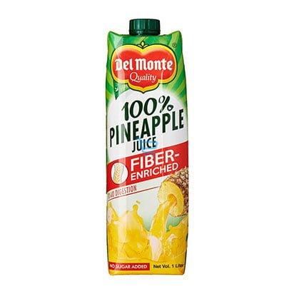 Del Monte Juice Pineapple With FIber 1 Lite
