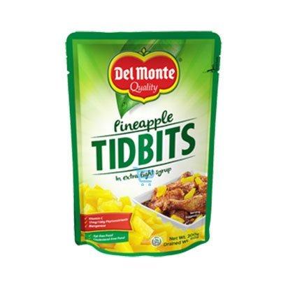 Del Monte Pineapple Tidbits Pouch 115g