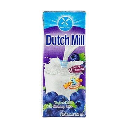 Dutchmill Yogurt Drink Blueberry 180ml