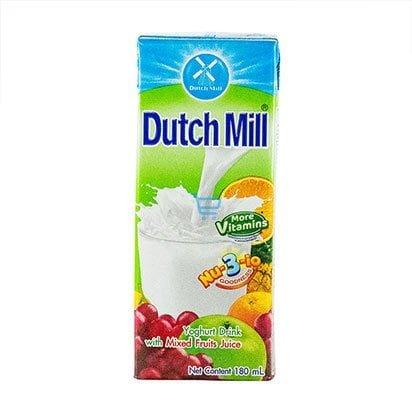 Dutchmill Yogurt Drink Mixed  Fruit 180ml