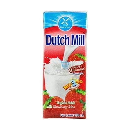Dutchmill Yogurt Drink Strawberry 180ml