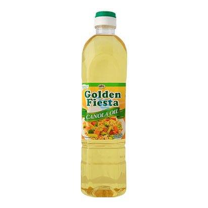 golden fiesta canola oil 1liter