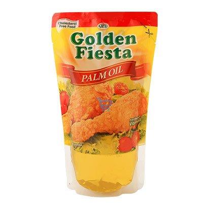 golden fiesta palm oil 1liter pouch