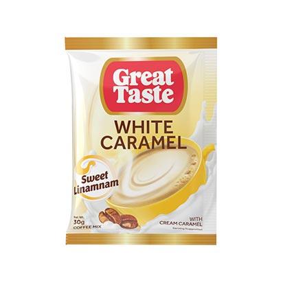 Great Taste White Caramel Coffee 30gx10s