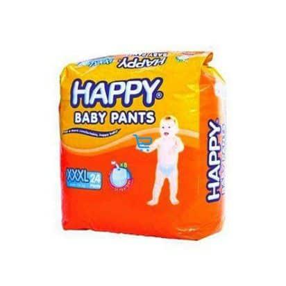 happy diaper xxxl 24