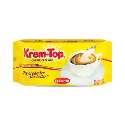 Krem Top Coffee Creamer 5gx24s