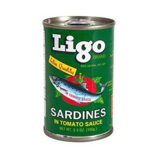 Ligo Sardines Green 155g