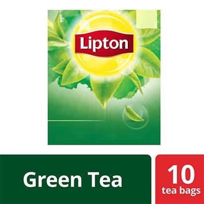 Lipton Green Tea 1.5g 10 Bags