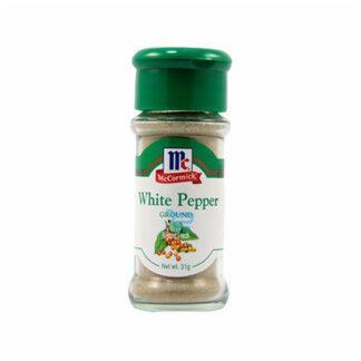 McCormick Ground White Pepper 31g