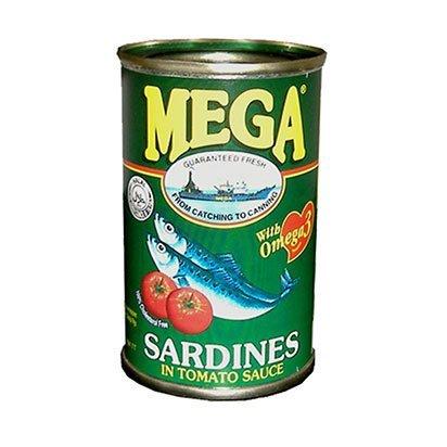 Mega Sardines Green 155g