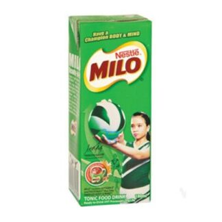Milo Ready To Drink Tetra Pack 110ml