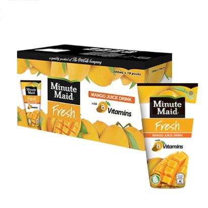 Minute Maid Mango Juice Drink 200ml Box