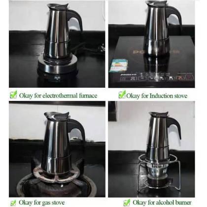 moka coffee thermos stainless steel pot 9