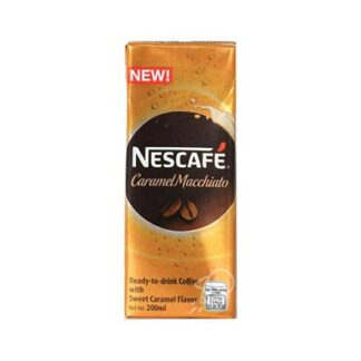 Nescafe Caramel Macchiato RTD Coffee 200ml