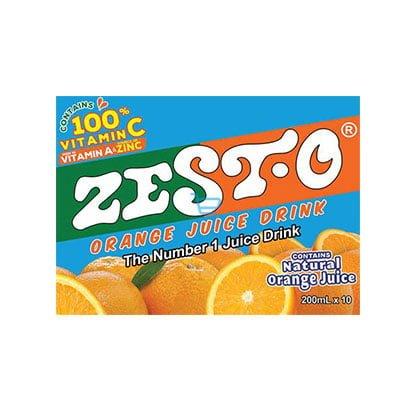 Zest-O Orange 200ml Box
